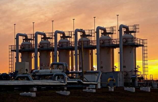 ПХГ Украина Нафтогаз
