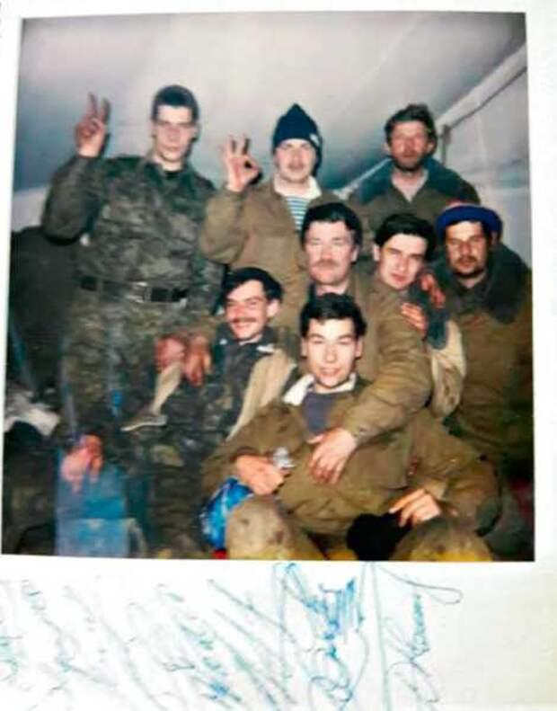 Огнеметчики на первой чеченской войне