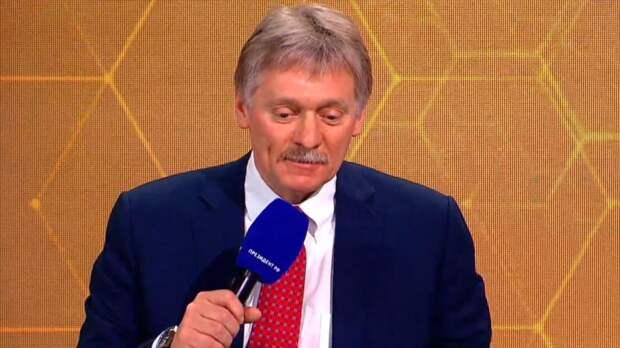 Песков сообщил об отсутствии запросов от Украины о встрече с Путиным