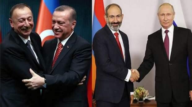 Сила Эрдогана, победа Путина иконфузЕС иНАТО: западная пресса оКарабахе