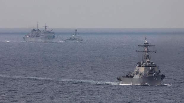 Начало боевых действий между США и Россией в море назвали маловероятным