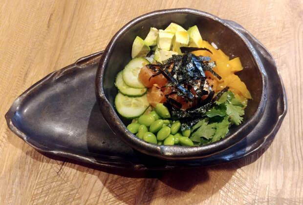 Рецепт поке с лососем