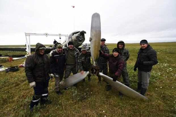Команда Русского географического общества