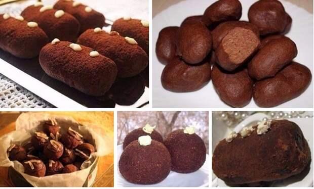 Пирожное «Картошка» — 5 рецептов. Признавайтесь, любите?)