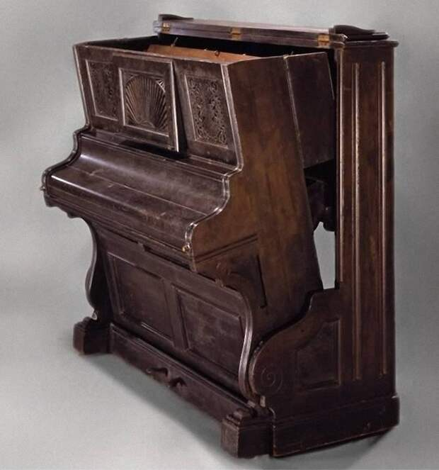 Кровать пианино