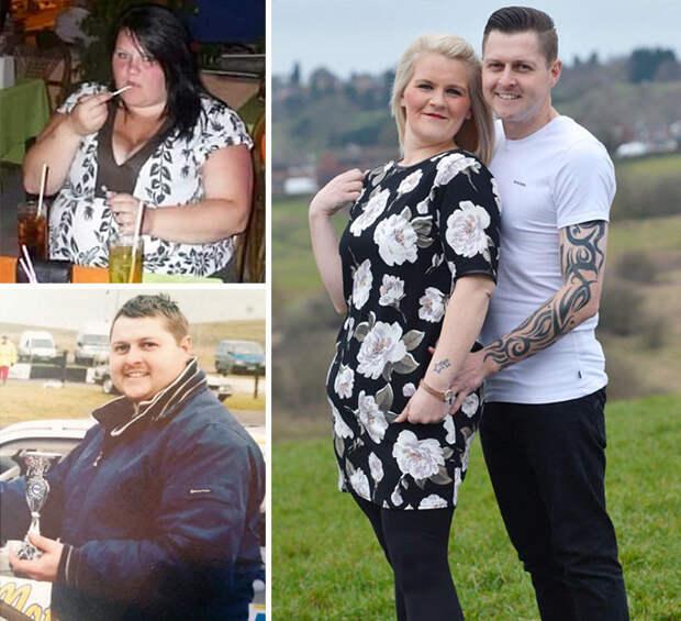Они продали машину, чтобы больше ходить пешком - и 85 кило на двоих как не бывало! диета, лишний вес, похудение