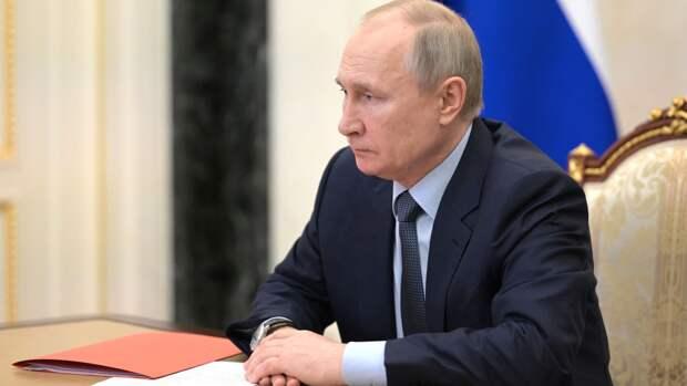 Путин выразил соболезнования родным тележурналиста Лысенко