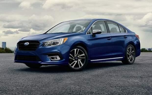 Subaru возвращает в Россию седан Legacy