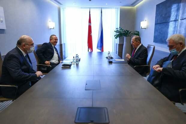 Переговоры в Сочи