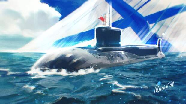 """Zona Militar: Запад ждет сокрушительный удар от российской подлодки """"Борей"""""""