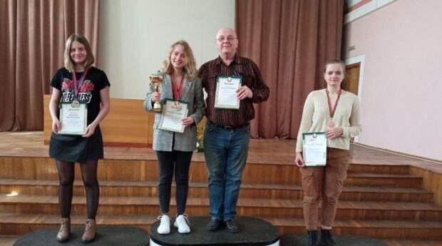 Студентка БГУ выиграла чемпионат Беларуси по шашкам-100.