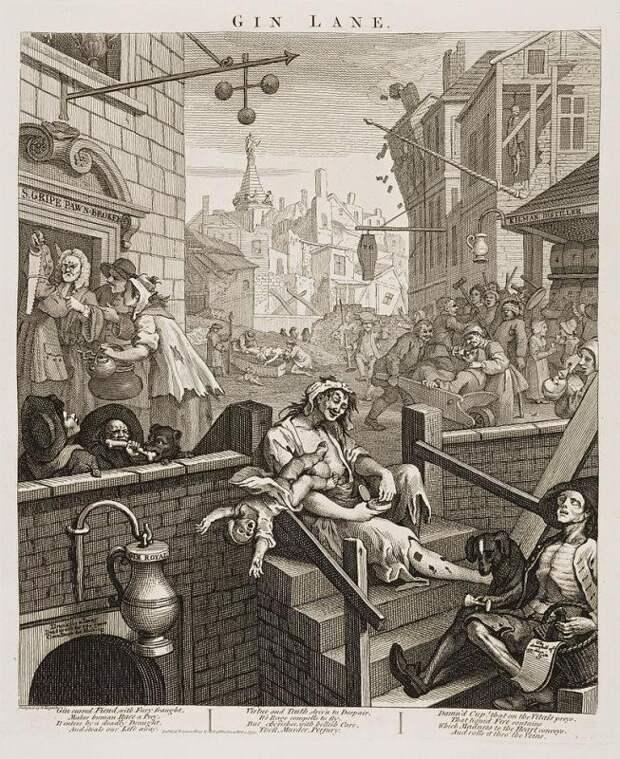 Как Лондон чуть не погубила дешевая выпивка