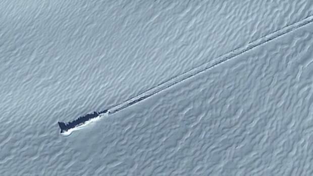 Американский конспиролог нашел корабль пришельцев в Антарктиде с помощью Google Карт
