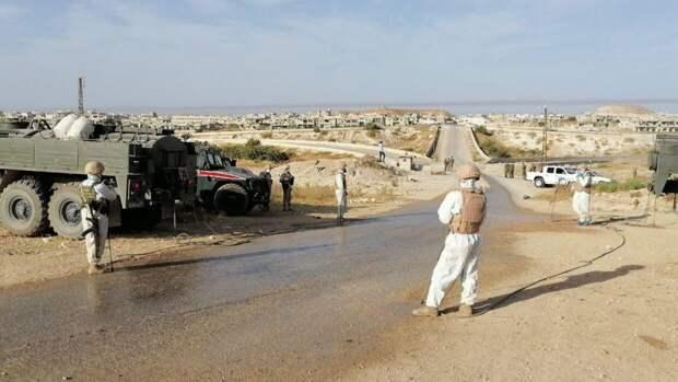 Патруль ВС РФ развернул колонну войск США в сирийской провинции Хасака