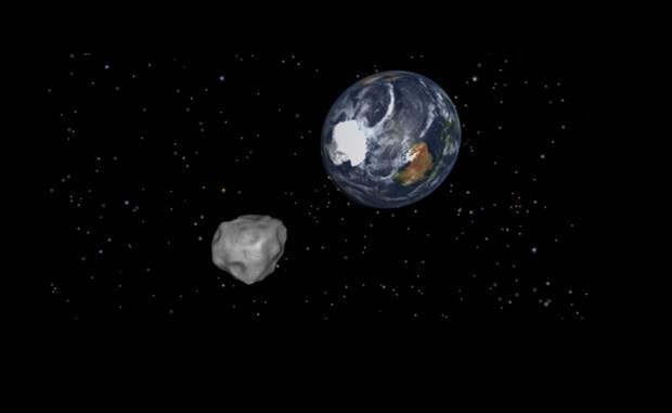 Что будет, если попытаться сбить падающий астероид ядерной ракетой