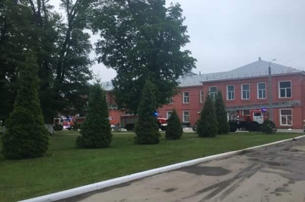 Число пострадавших при пожаре в рязанской больнице возросло до 10