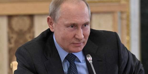 Путин отметил высокий уровень отношений России и Швейцарии