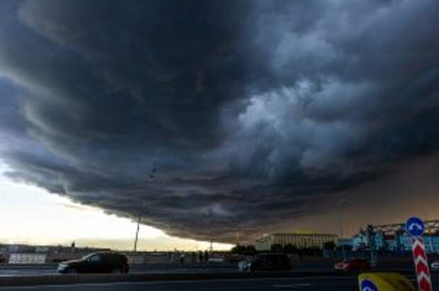 МЧС предупреждает о сильном дожде, граде и шквалистом ветре в ближайшие часы в Москве