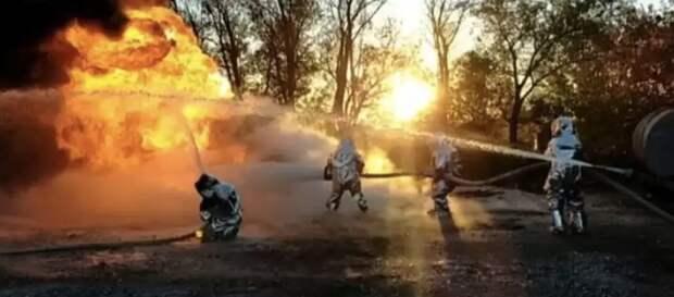В Акмолинской области предотвратили взрыв бензовоза