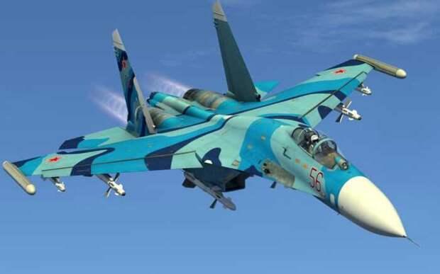 В Китае подсчитали стоимость часа полета на истребителе Су-27
