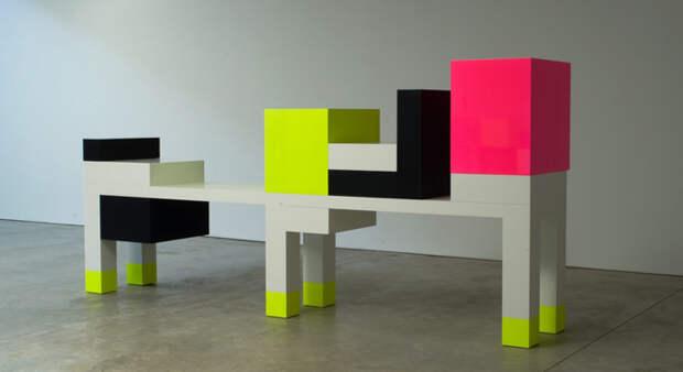 Предметы мебели, созданные им, могли быть многофункциональными, но главной особенностью была их форма.