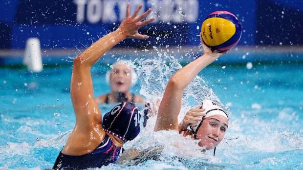 Женская сборная России по водному поло разгромно проиграла США на ОИ