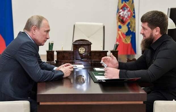 Кадыров: Народ видит развитие России только под руководством Путина