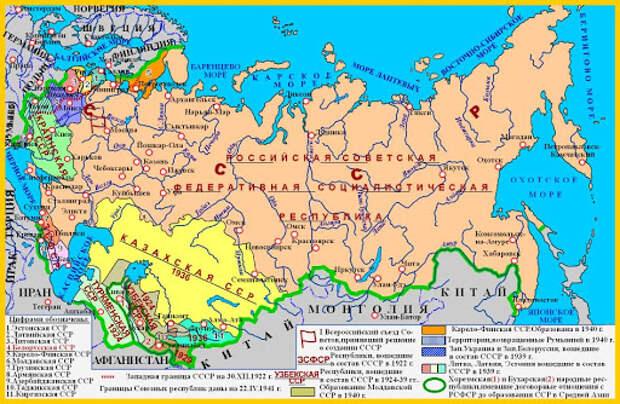 Новая Конституция и территории вокруг России.