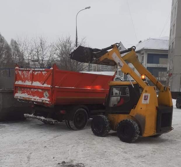 Коммунальщики Марьина готовы к надвигающемуся супершторму