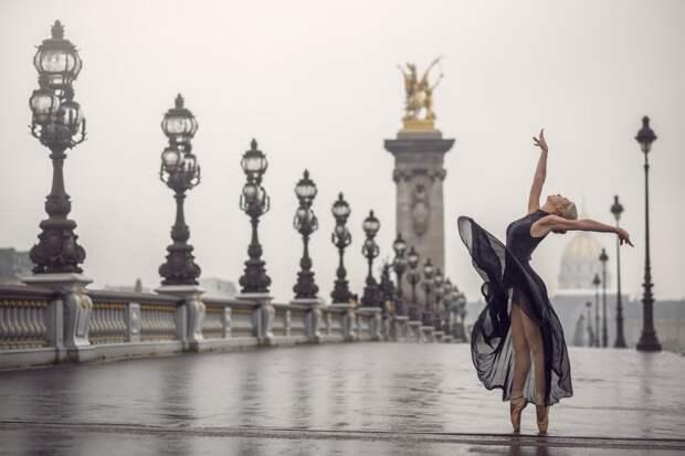 Димитрий Роулланд фотопортреты танцоров на улицах городов