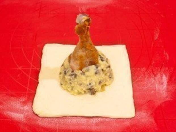 Куриные ножки в мешочке(необычный рецепт) курица, еда, кулинария, фоторецепт, рецепт с фото пошагово, длиннопост
