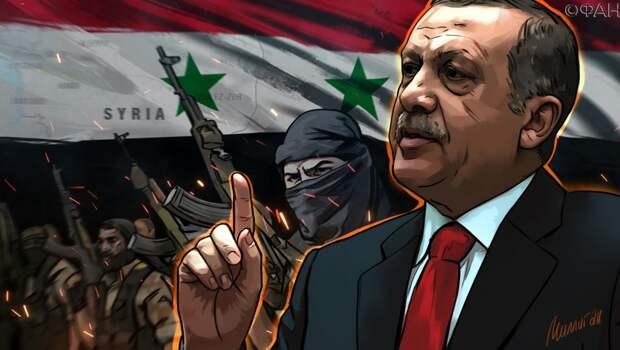 Асад: Турция вторглась в Идлиб по указке США