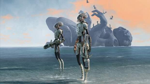 Пришельцы являются бессмертными роботами возрастом в миллиарды лет