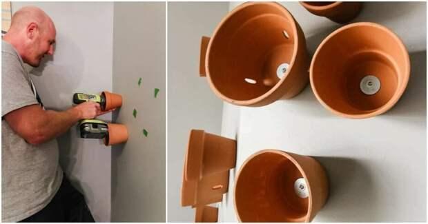 Креативный проект с использованием терракотовых горшков
