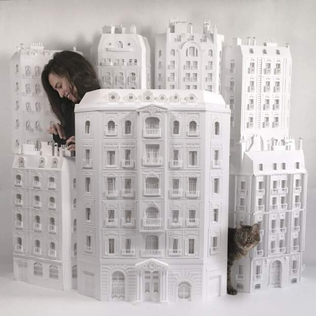 Бумажные города Camille Ortoli