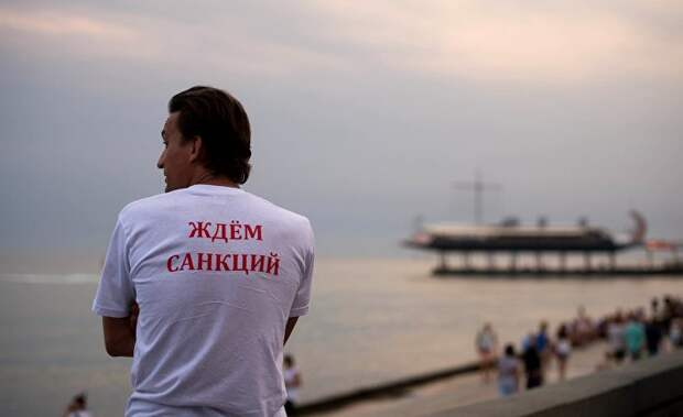 Der Spiegel: Россия не вернула Крым. Может, санкции — ерунда?