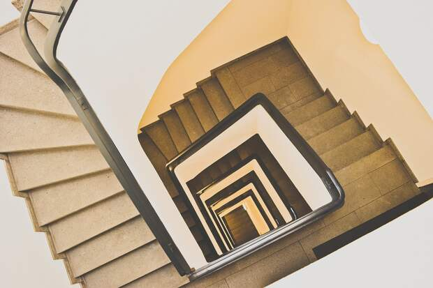 Лестница, Архитектуры, Лестницы, Интерьер, Окна, Здание