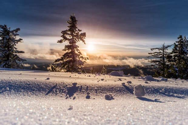 8 фактов о снеге, которые вас удивят