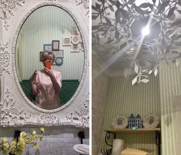 Актриса Юлия Меньшова показала любимую комнату в московской квартире