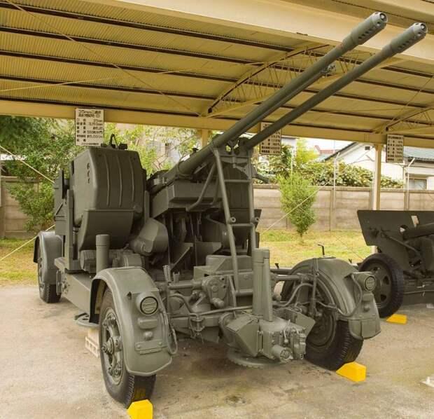 Японские послевоенные зенитные пулемётные и артиллерийские установки