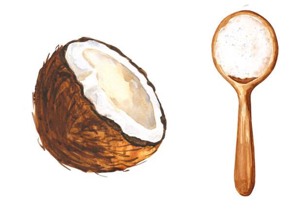 Мука без глютена —кокосовая