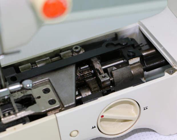 Устройство швейной машины Джуки