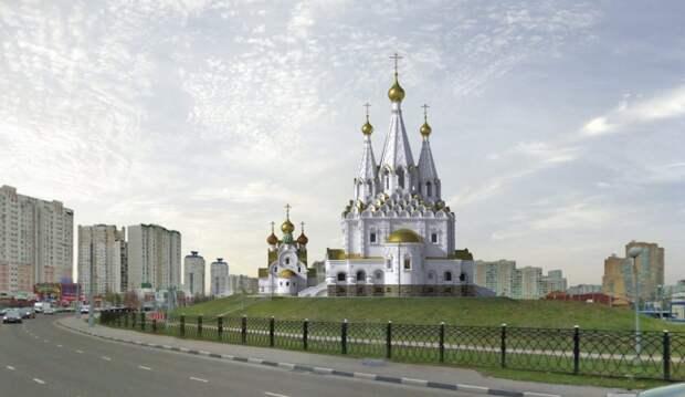 Проект храмового комплекса / Фото предоставлено настоятелем храма Виталием Ульяновым