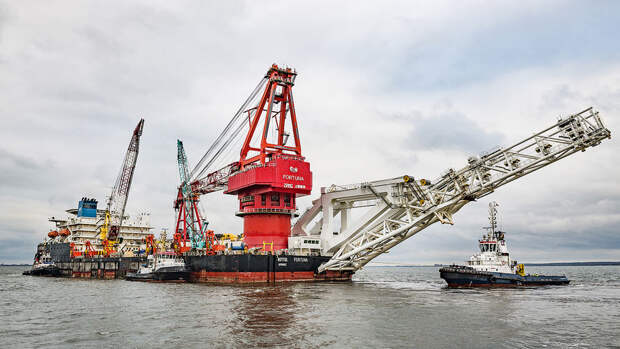 "США ввели санкции против судна-трубоукладчика ""Фортуна"""