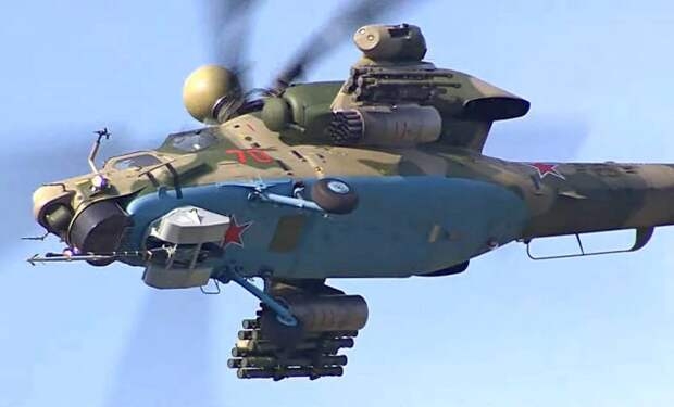 Обновленный Ми-28НМ сможет побороться с истребителями пятого поколения