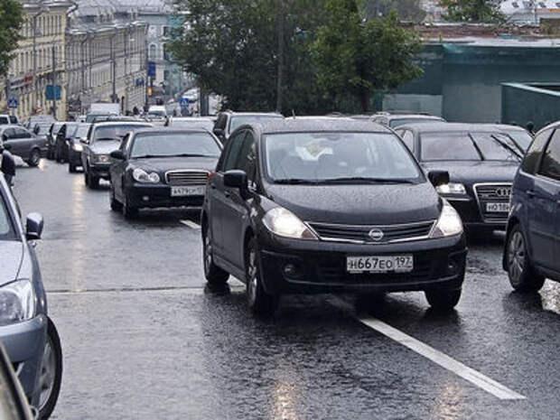 В России посчитали легковые автомобили