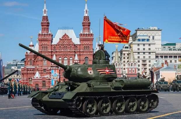 В Москве прошла генеральная репетиция Парада Победы (ВИДЕО)
