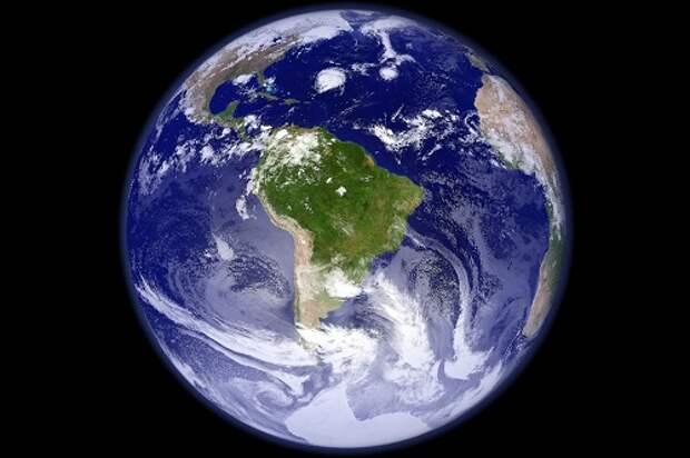 Почему планета Земля голубая?