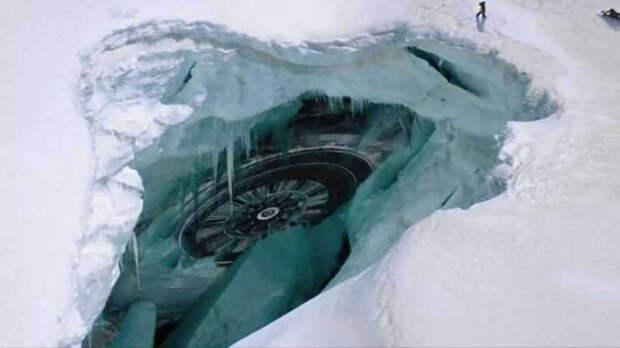 Странные находки на Ледяном континенте