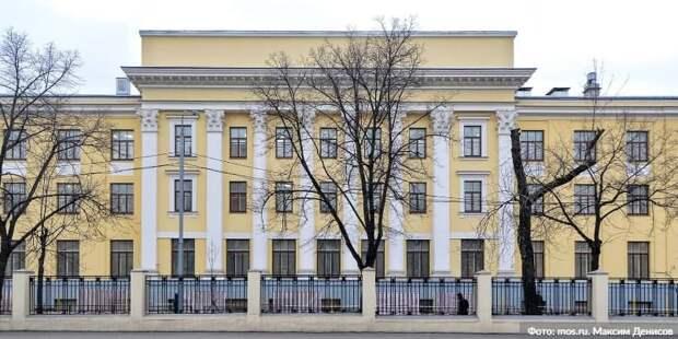 Собянин: В Москве идёт капитальный ремонт Боткинской больницы Фото: М. Денисов mos.ru